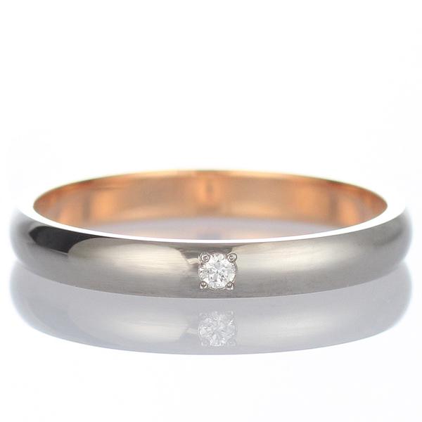 結婚指輪 マリッジリング 結婚指輪 マリッジリング ペアリング ホワイトゴールド ピンクゴールド ダイヤモンド 末広 スーパーSALE【今だけ代引手数料無料】