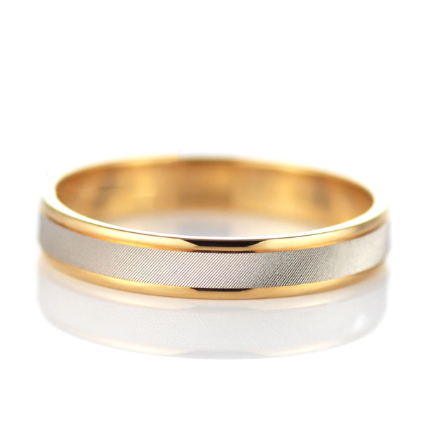 Wedding Rings Bands Platinum Gold Pair Pairing Ring Bridal Jewelry