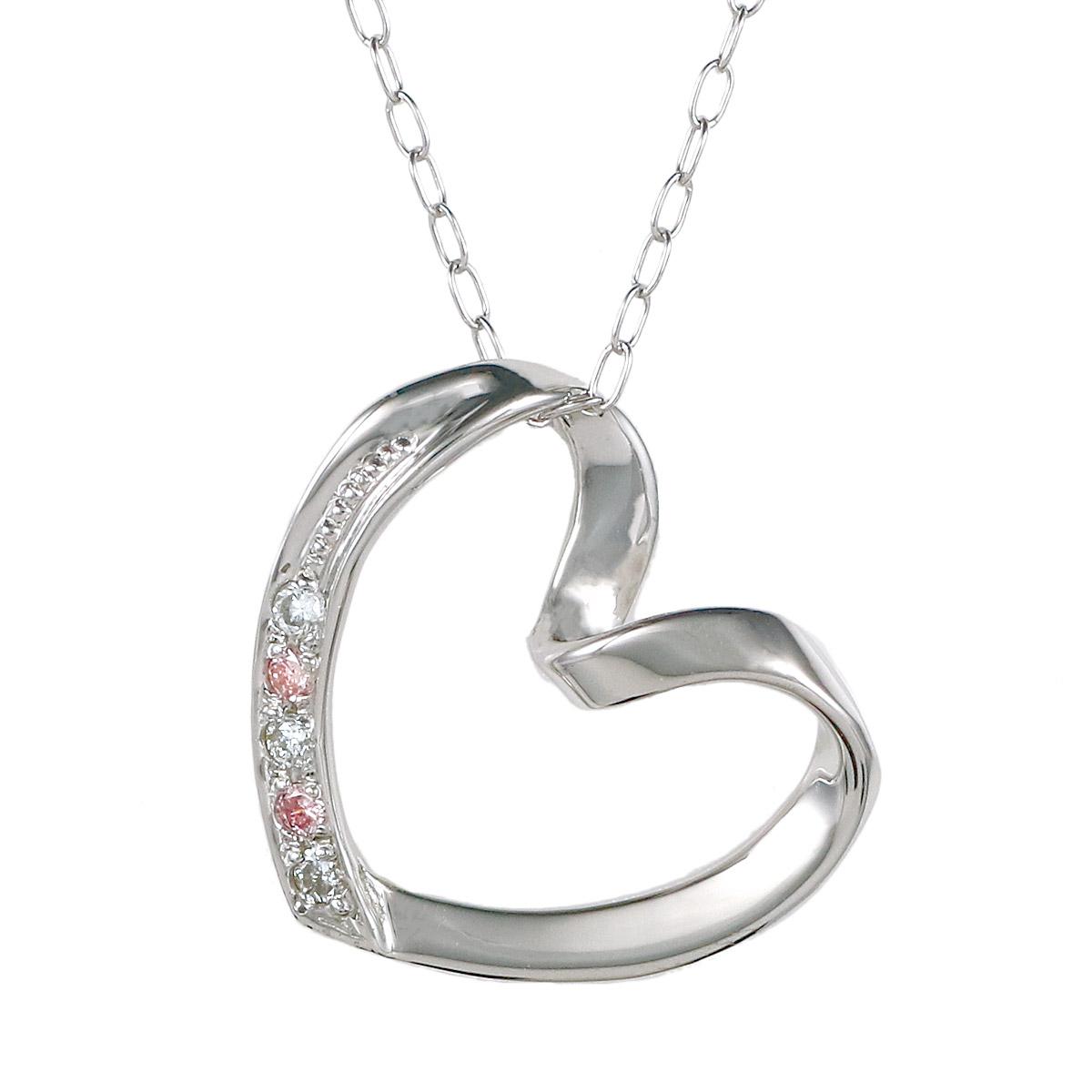 Jewelry SUEHIRO  Pink diamonds Diamond White Gold Diamond diamond necklace  necklaces to her present gift wrapping free-QP  b90f94f02901