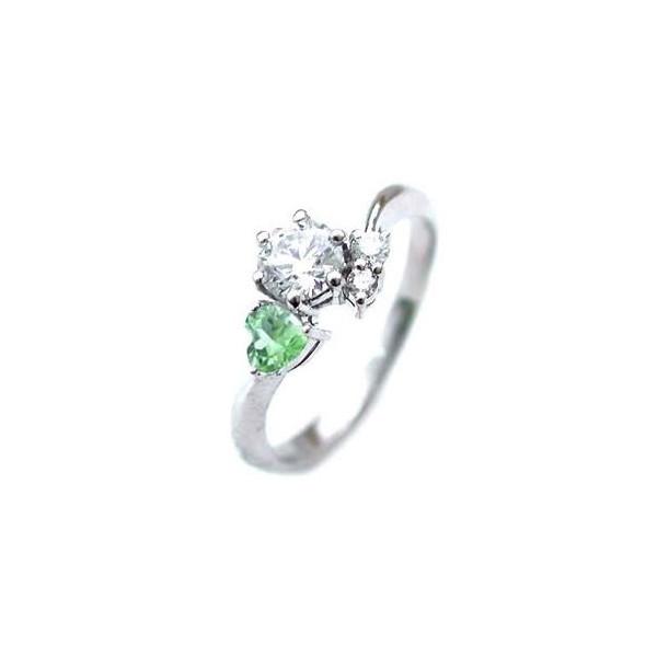 婚約指輪 ダイヤモンド プラチナリング 一粒 大粒 指輪 エンゲージリング 0.4ct プロポーズ用 レディース 人気 ダイヤ 刻印無料 8月 誕生石 ペリドット 末広 スーパーSALE