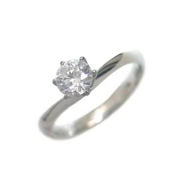 ダイヤモンド ダイヤ プラチナ 婚約指輪 エンゲージリング ダイヤモンド ダイヤ リング 指輪 人気 ダイヤリング 鑑別書付 0.23ct 末広 スーパーSALE