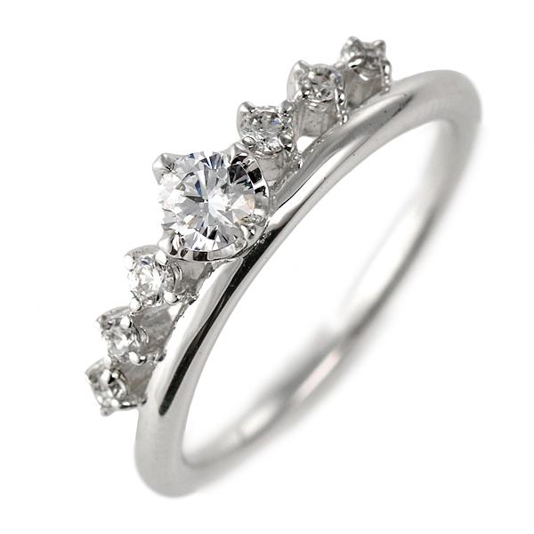 ダイヤモンド リング プラチナ 婚約指輪 0.2カラット 鑑別書【DEAL】