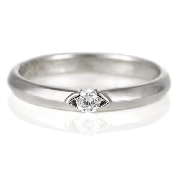 【今だけエントリーで全品5倍!5/18まで限定!】結婚指輪 プラチナ ダイヤモンド マリッジリング レディース