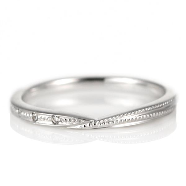 結婚指輪 プラチナ ダイヤモンド マリッジリング レディース【DEAL】