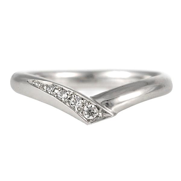 結婚指輪 プラチナ ダイヤモンド マリッジリング レディース【DEAL】 末広 スーパーSALE