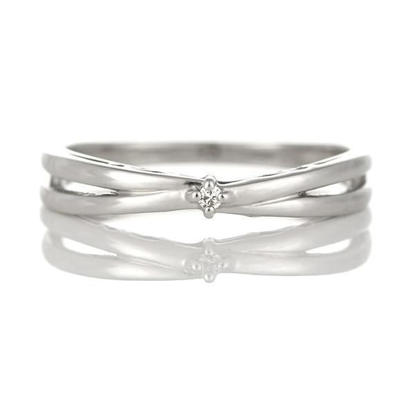 プラチナ900 ダイヤモンド ペアリング