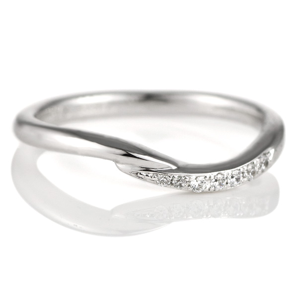結婚指輪 プラチナ マリッジリング ダイヤモンド レディース 末広 スーパーSALE【今だけ代引手数料無料】