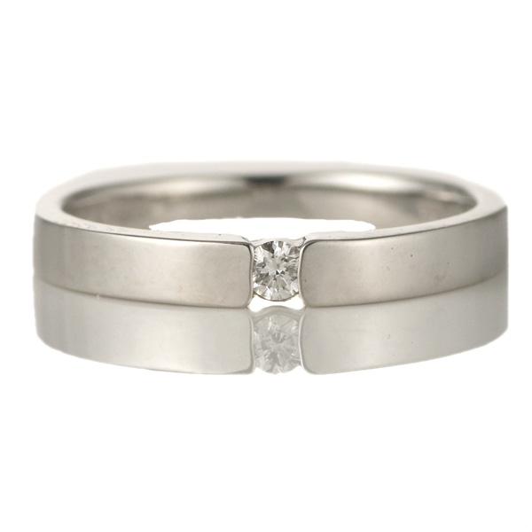 ダイヤモンド エンゲージリング ダイヤ 18金ホワイトゴールド 18金 金 K18 18k リング ダイヤモンド 一粒 大粒 プロポーズ用【DEAL】