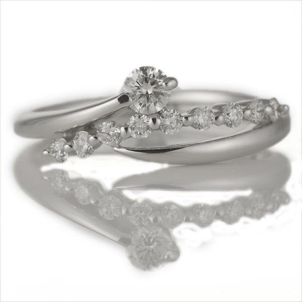 スイート エタニティ ダイヤモンド 18金ホワイトゴールド 18金 金 K18 18k ダイヤモンドリング 結婚 10周年記念【DEAL】