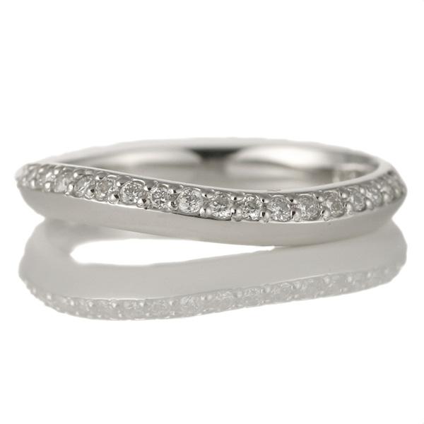 婚約指輪 18金ホワイトゴールド 18金 金 K18 18k ダイヤモンド リング 結婚【DEAL】