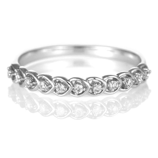 ダイヤモンド リング ダイヤモンドリング 指輪 ホワイトゴールド 4月 誕生石【DEAL】