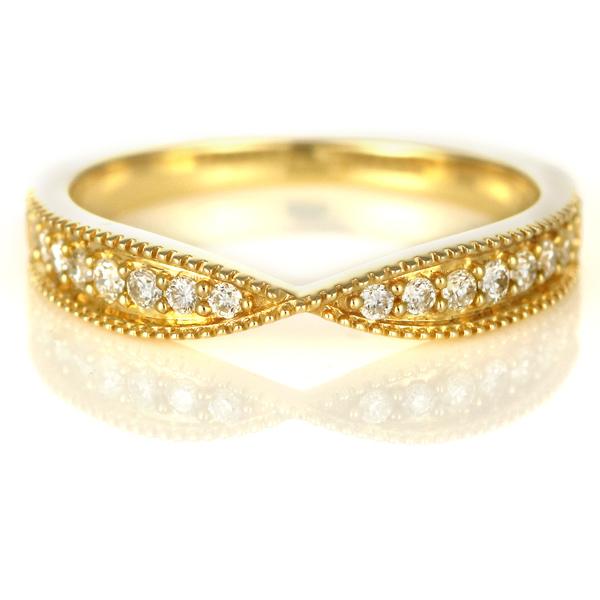 ダイヤモンド リング ダイヤモンドリング 指輪 イエローゴールド 4月 誕生石【DEAL】