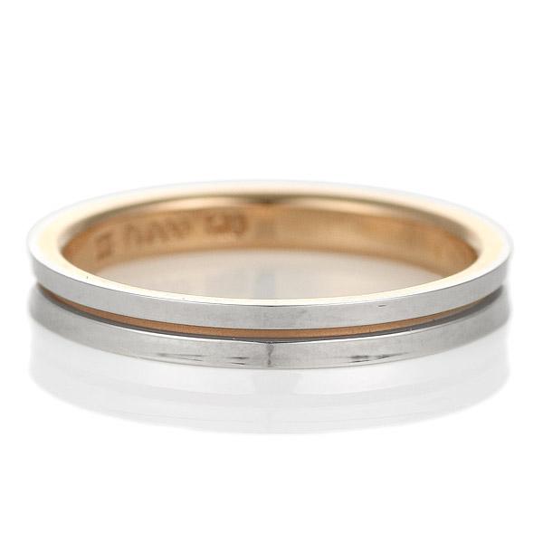 指輪 レディース プラチナ ニナリッチ 刻印無料 大きいサイズ