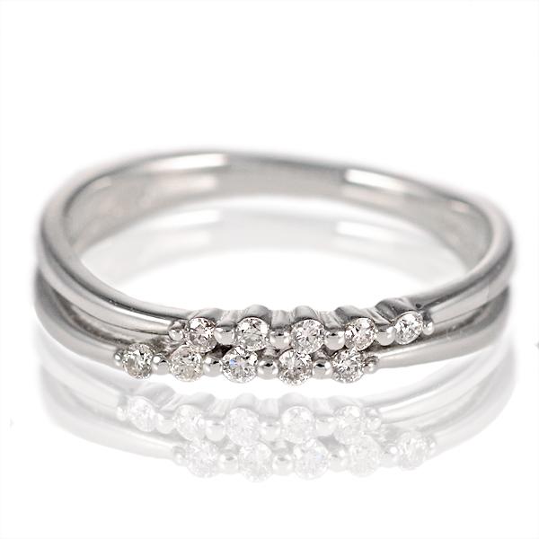 スイートエタニティ 10粒 ダイヤモンド リング シンプルプラチナダイヤモンドリング 指輪 プラチナ900 ストレート レディース 人気 プレゼント
