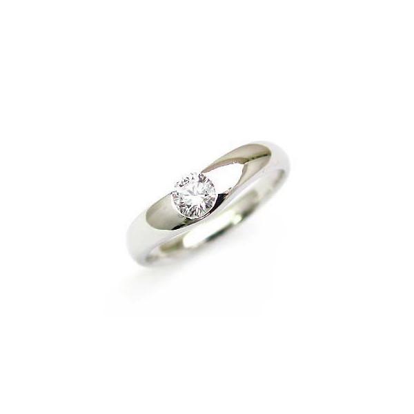 ダイヤモンド 指輪 プラチナ リング ダイヤ デザイン リング レディース ソリティア 人気 鑑定書付き エクセレントカット VS 0.25ct 末広 スーパーSALE