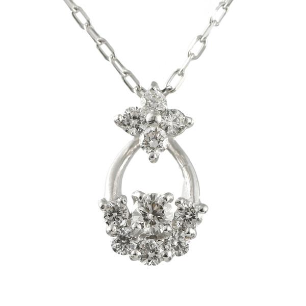 【スーパーSALE】スイート エタニティ ダイヤモンド 10個 ダイヤモンド ネックレス 結婚 10周年記念 18金【DEAL】 末広 スーパーSALE【今だけ代引手数料無料】