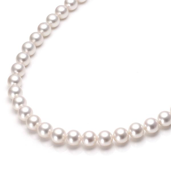 パールネックレス アコヤ真珠 あこや真珠 本真珠 ネックレス 冠婚葬祭 パール ネックレス