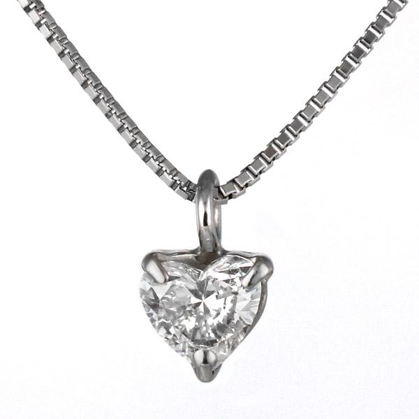 ネックレス ダイヤモンド プラチナ 一粒 レディース