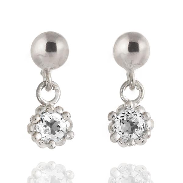 ダイヤモンド ダイヤ ( 4月誕生石 ) ダイヤモンドピアス