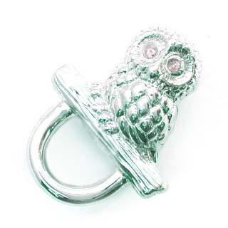 ( 4月誕生石 ) ダイヤモンド入り SVめがねホルダー