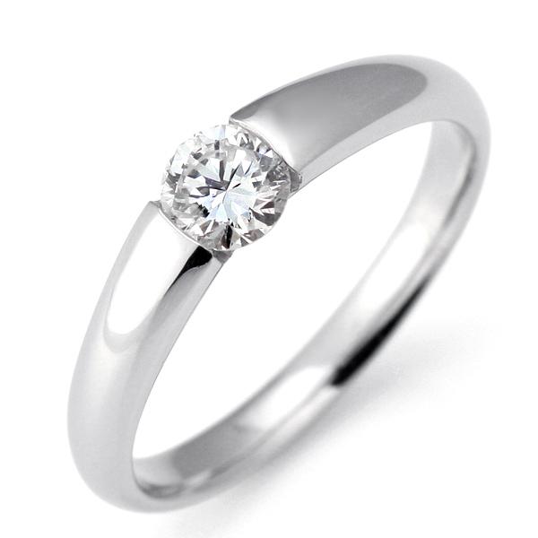 ダイヤモンド リング プラチナ ダイヤモンドリング 婚約指輪 エンゲージリング 0.3ct D VVS2 EX 鑑定書付 ラッピング無料