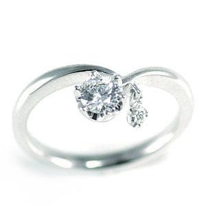 【特別!《お誕生石》プレゼント】K18ホワイトゴールドダイヤモンドリング 【DEAL】