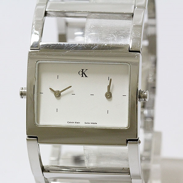 Calvin Klein(CK)K04201石英白表盘