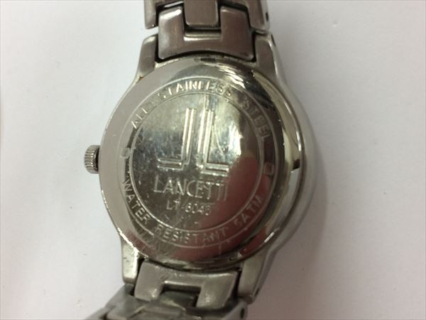 It watches all shop ok2 lancetti lancetti quartz ladies black dial glass panel part only by about 2 cm