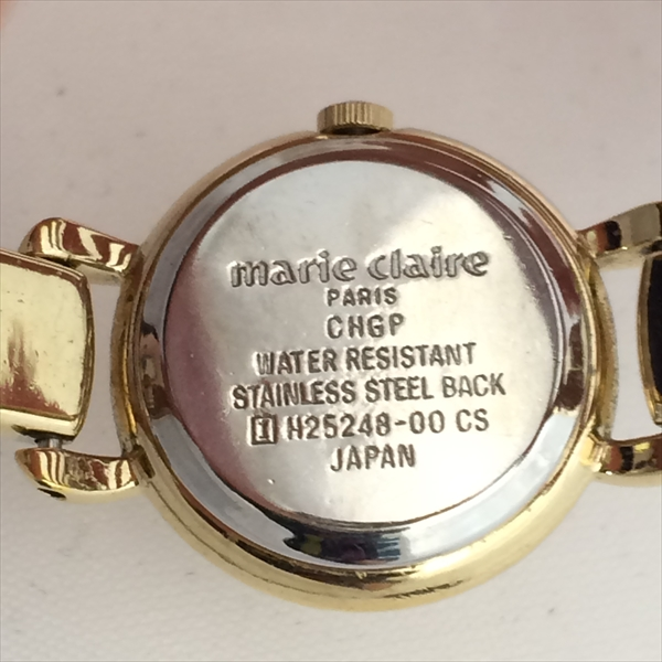 Watch Marie Claire 2 cm stainless steel SS watch all shop
