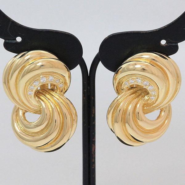 TASAKI タサキイヤリングダイヤモンド 各計0 07ct18金イエローゴールド K18YGブランド ジュエリー新品仕上げ済みnetshop 2018628MzqSpUV