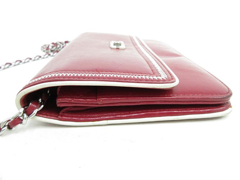 23904e8bb05c CHANEL(シャネル) 2.55 エルメス チェーンウォレット 財布 バッグ ...