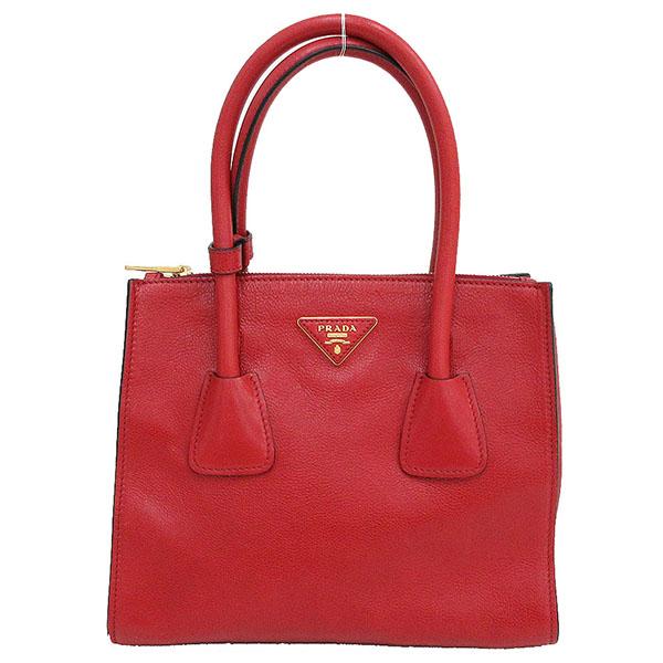 74cbe46ae089cb Take a PRADA (Prada) 2WAY hand long shoulder bag slant; 1BG625 red red ...