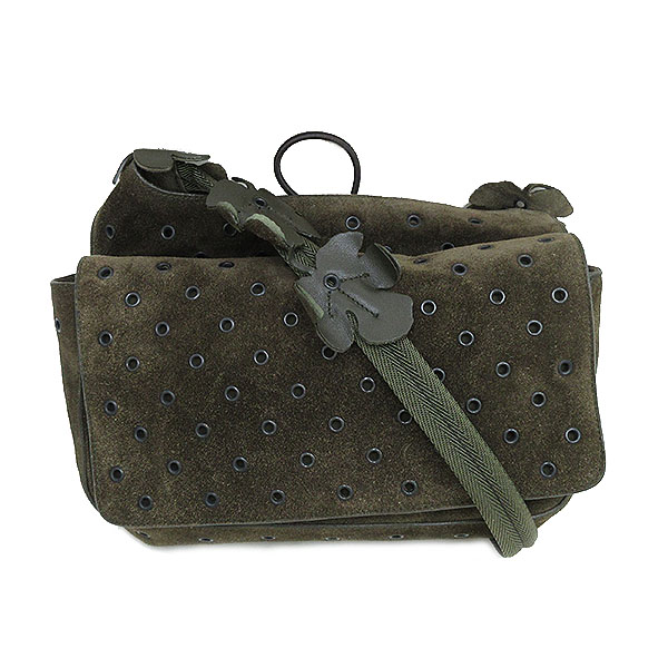 cb5124aae3a5 Jewelry-Total Tiara Inc.  PRADA (Prada) punching shoulder bag khaki ...
