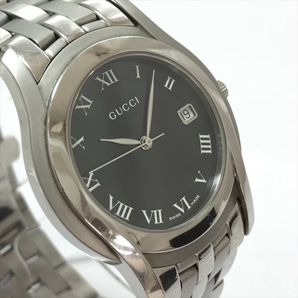 2044b5845fd GUCCI (Gucci) 5500M lindera board stainless steel (SS) quartz men watch  netshop