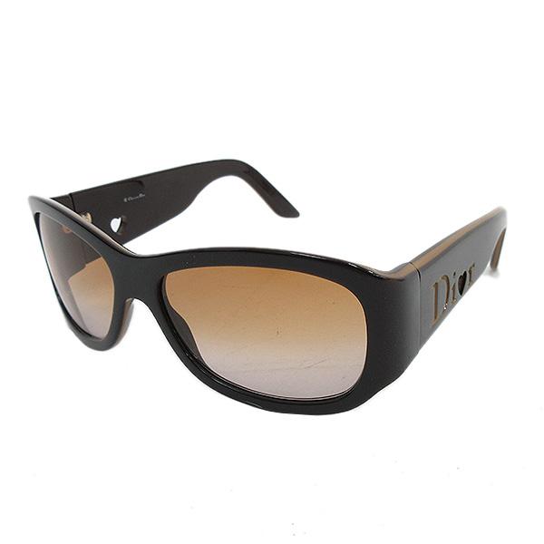 4505349fc1e9 It is netshop Christian Dior (Christian Dior) side logo sunglasses glasses  tea brown [brand accessory] [used]