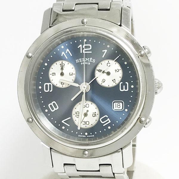 HERMES(エルメス) クリッパー クロノグラフ CL1.910 ステンレススチール(SS) クォーツ  【中古】 腕時計 netshop