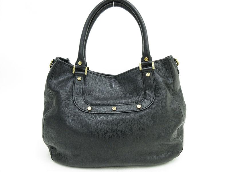 192d25ea499 Jewelry-Total Tiara Inc.  TORY BURCH (Tolly Birch) Amanda tote bag black  black leather netshop