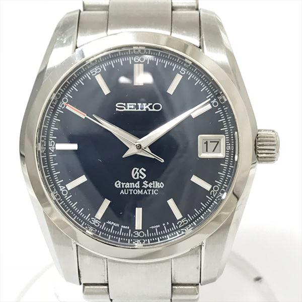 GRAND SEIKO(グランドセイコー) メカニカル 9S65-00B0 SBGR073 ネイビー ステンレススチール(SS) オートマティック(自動巻き) メンズ 【中古】 腕時計 netshop