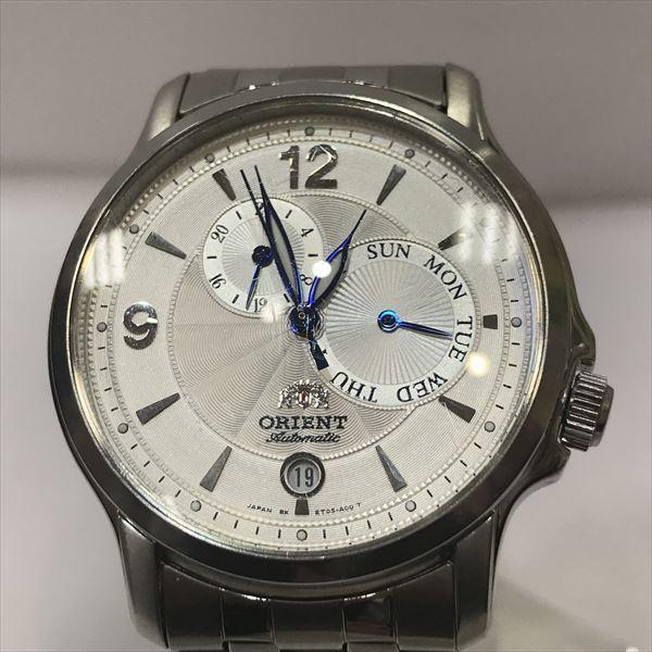 オリエント ET05-C0 CS クロノグラフ ステンレススチール(SS) 自動巻き メンズ 【中古】 腕時計 all shop aj3