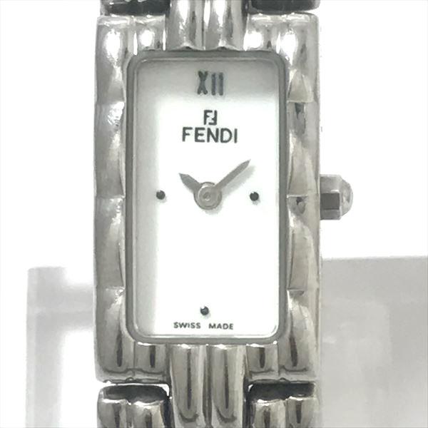 FENDI(フェンディ) 660L 白文字盤 ステンレススチール(SS) クォーツ レディース 【中古】 腕時計 netshop【201939】