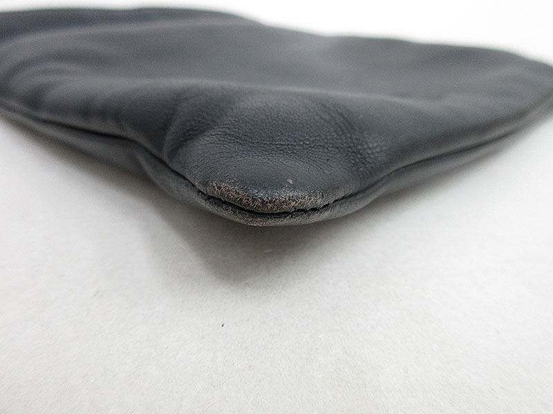 LOEWE ロエベロングショルダーポシェット 斜めがけ黒 ブラック ナッパレザーブランド小物netshop 2019723UGpqSMVz