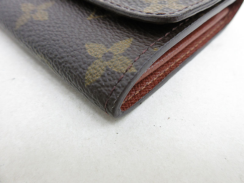 LOUISVUITTON(ルイヴィトン)モノグラムポルトモネジップ二つ折り財布コインケースM61735【ブランド財布】【