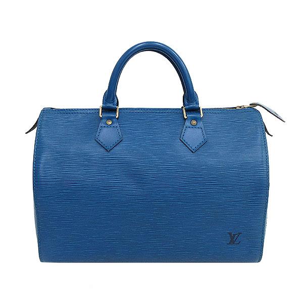 LOUIS VUITTON(ルイヴィトン) エピ スピーディ30 ボストンバッグ M43005 青 ブルー 【ブランドバッグ】 【中古】 netshop【20191122】