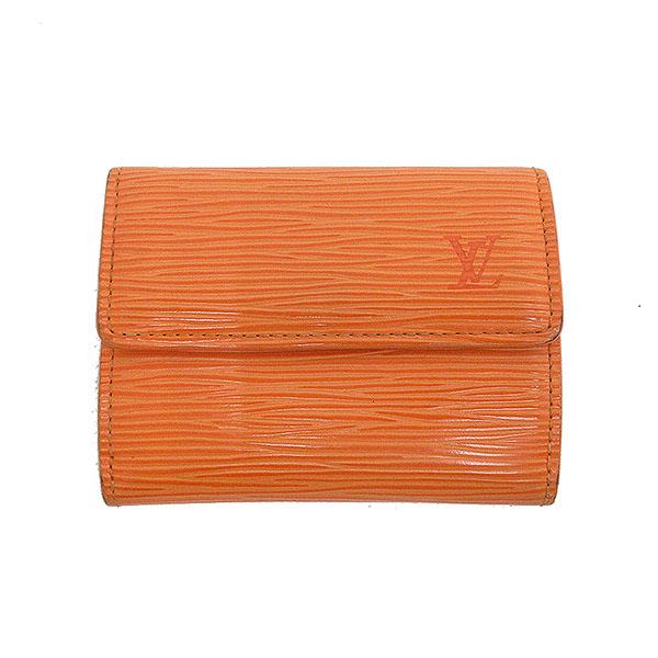 LOUIS VUITTON(ルイヴィトン) エピ ラドロー 三つ折財布 コンパクト M6330H オレンジ 【ブランド財布】 【中古】 netshop