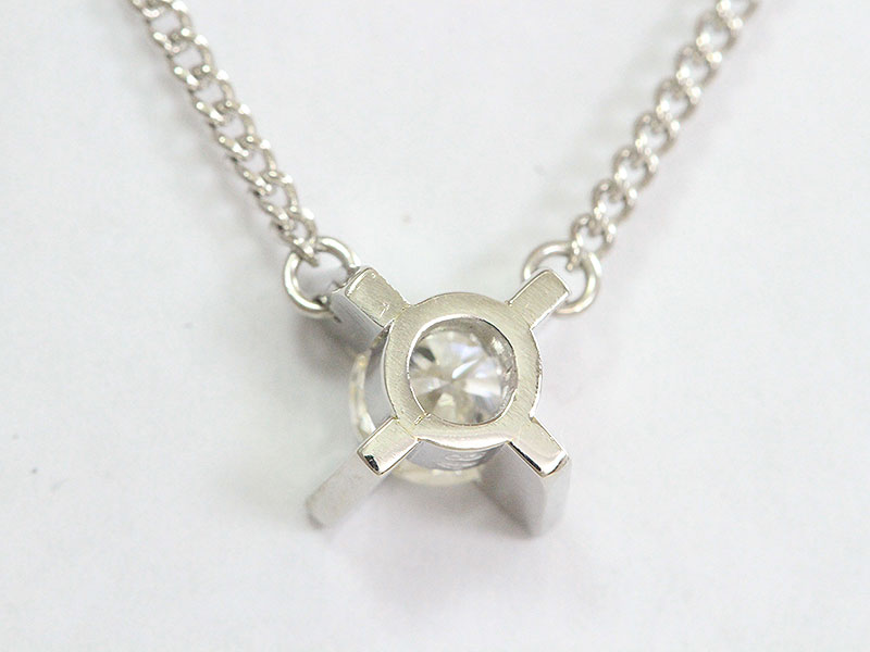 一粒石 ダイヤモンド 0 48ctネックレスプラチナ Pt850ジュエリー新品仕上げ済みnetshophstQrCd