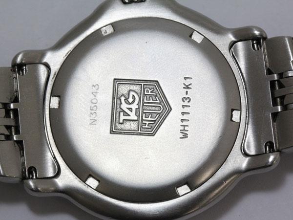 TAG 豪雅 (TAG 豪雅) 专业 6000 系列 WH1113 K1 银拨号
