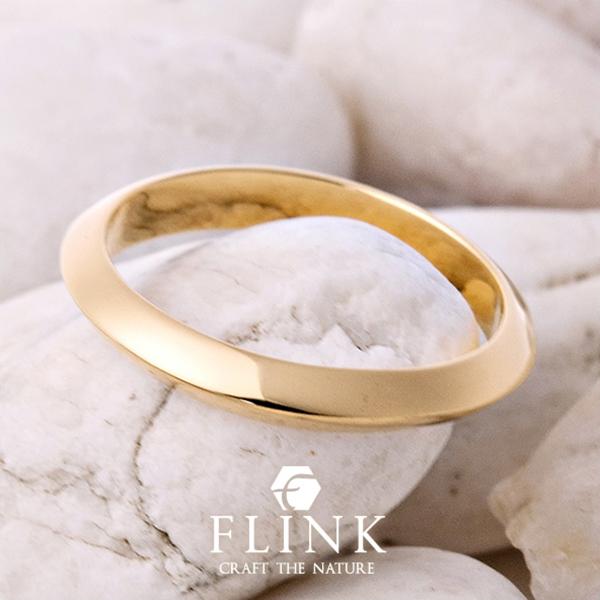 K22リング【22金 指輪】ピンクゴールドorイエローゴールド【2タイプ】FLINK フリンク【送料無料】デート ギフト プレゼント 誕生日