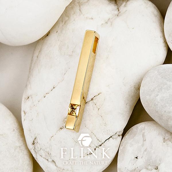22金ペンダント イエローサファイア 天然石 K22 ピンクゴールド イエローゴールド レディース【ペンダントトップ】【2タイプ】FLINK フリンク 送料無料