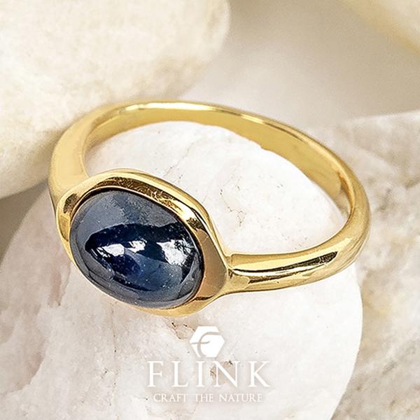 22金ピンキーリング【ブルーサファイア】K22(ピンクゴールド、イエローゴールド)【2タイプ】レディース【小指 指輪】FLINK フリンク【送料無料】プレゼント 誕生日
