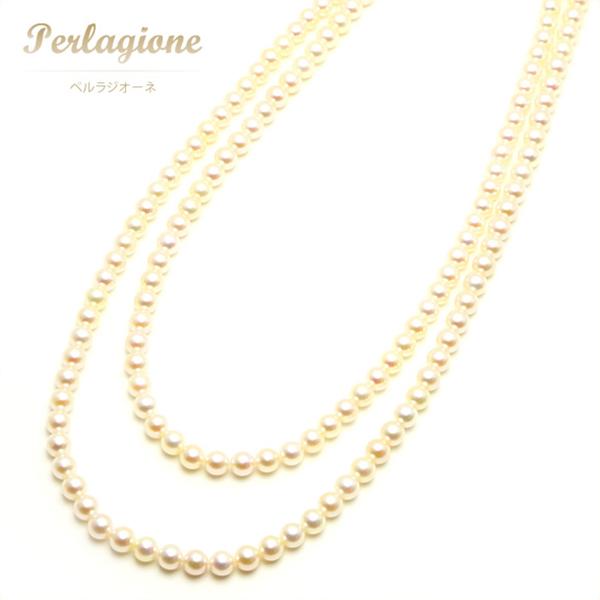 Perlagione ペルラジオーネ【送料無料】アコヤパール【パール 真珠】パールネックレス